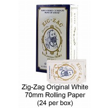 Zag zag Original White 70mm Rolling Paper