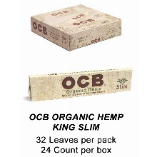 OCB Organic Hemp King Slim