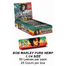 Bob Marley Pure Hemp 1 1 & 4 Size
