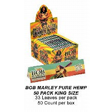 Bob Marley Pure Hemp 50 Pack King Size