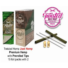 Twisted Hemp Just Hemp With Prerolled Tips