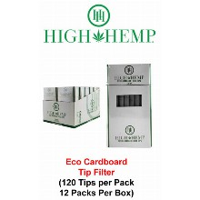 High Hemp Eco Cardboard Tip Filter