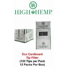 High Hemp Eco Cardboard Tip Filter