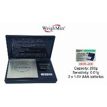 WeighMax Digital Pocket Scale 3805 200