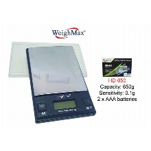 WeighMax Digital Pocket Scale Hd 650