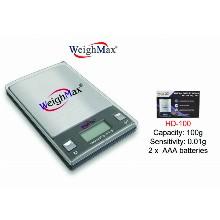 WeighMax Digital Pocket Scalehd 100