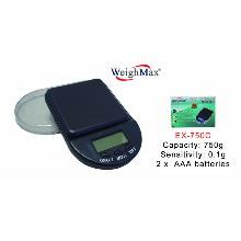 WeighMax Digital Pocket Scale Ex 750c