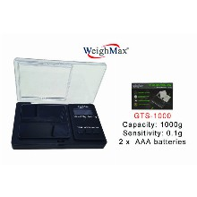 WeighMax Digital Pocket Scale GTS 1000