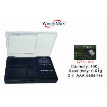 WeighMax Pop out Tray Pocket Scale GTS 100