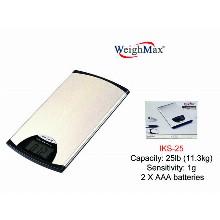 WeighMax Stainless Steel Kitchen Scale Iks 25