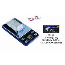 WeighMax Diamond Jewelry Digital Scale Ct 20