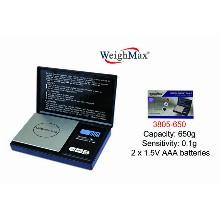 WeighMax Digital Pocket Scale 3805 650