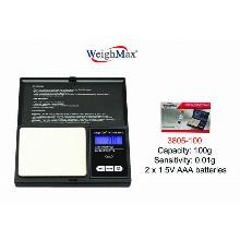 WeighMax Digital Pocket Scale 3805 100