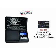 WeighMax Digital Pocket Scale Sm 100