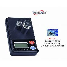 WeighMax Digital Pocket Scale Bx 750