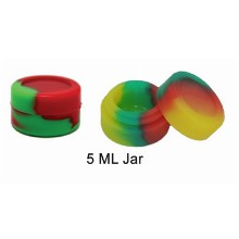 5 Ml Silicone Jar Assorted Colors