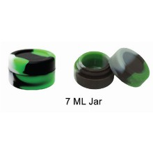7 Ml Silicone Jar Mixed Colors