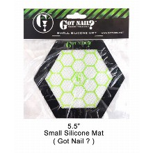 5.5 Inch Small Silicone Mat