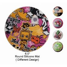 6 Inch Round Silicone Mat
