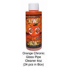 Orange Chronic Glass Pipe Cleaner 4oz