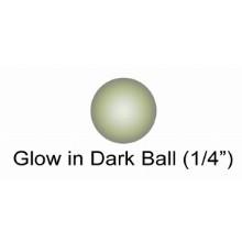 1 & 4 Inch Glow In Dark Ball