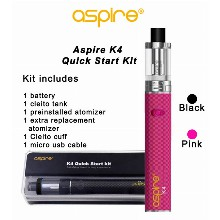 Aspire K4 Quick Start Kit