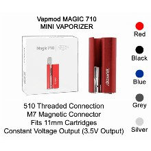 Vapmod Magic 710 Mini Vaporizer Red