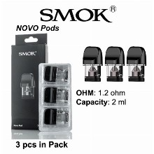 Smok Novo Pods 1.2 Ohm &  2 Ml