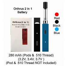 Orthrus 2 In 1 Battery 280mah