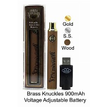 Brass Knuckles 900mah Voltage Adjustable Battery