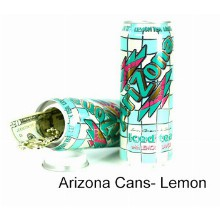 Arizona Cans Lemon Tea Hidden Safe