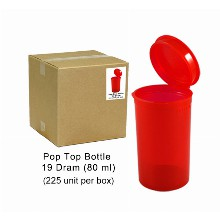 Pop Top Bottle 80ml