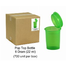 Pop Top Bottle 22ml