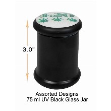3 Inch Glass Jar 75ml