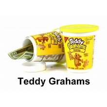 Teddy Grahams Hidden Safe