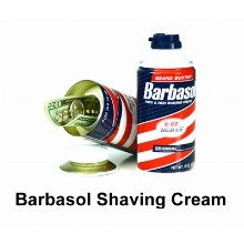 Barbasol Shaving Cream Hidden Safe