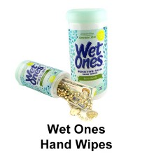 Wet Ones Hand Wipes Hidden Safe
