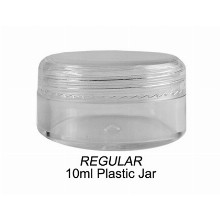 10ml Regular Plastic Jar