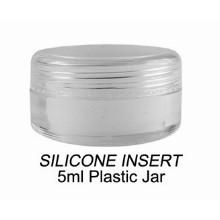 5ml Silicone Insert Plastic Jar