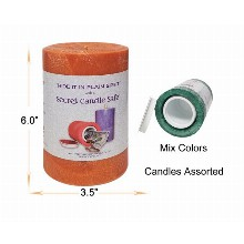 6 Inchx3.5 Inch Candle