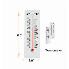 3 Inchx2 Inch Thermometer Hidden Safe
