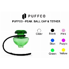 Puffco Peak Ball Cap And Tether Green