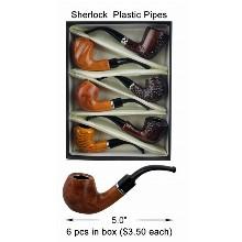 5 Inch Sherlock Plastic Pipes