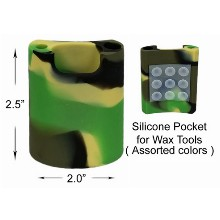 2.5 Inch 2 Inch Silicone Pocket For Wax Tools