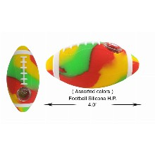 4 Inch Football Silicone Hand Pipe