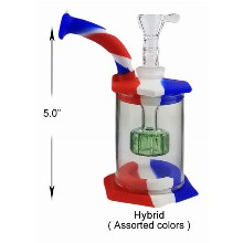 5 Inch Hybrid Water Pipe