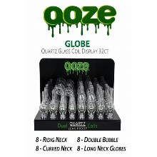 OOZE Globe Quartz Glass Coil