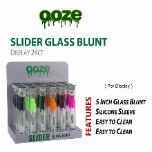 OOZE 5 Inch Slider Glass Blunt