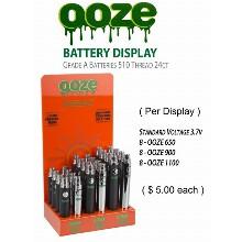 OOZE Battery 3.7v 650 1100mah
