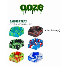 OOZE Multi purpose Silicone Banger Tray Ashtray